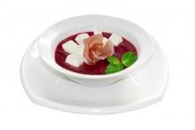 Крем-суп из печеной свеклы