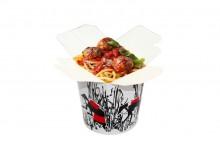 Спагетти с телячьими фрикадельками