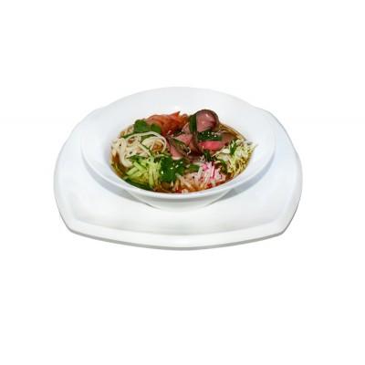 Корейский холодный суп Куксу