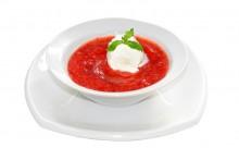 Айс суп с мороженым